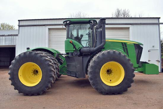 2014 John Deere 9560R 4WD Tractor, 2952 Hours, 800/70R38 Duals at 70%, Power Shift,