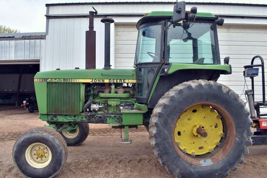 John Deere 4440 2WD Tractor, 15996 Hours, 8 Speed Power Shift, 18.4x38, 3 Hydraulics,