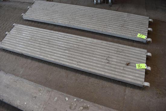 8' Alumium Scafolding Plank