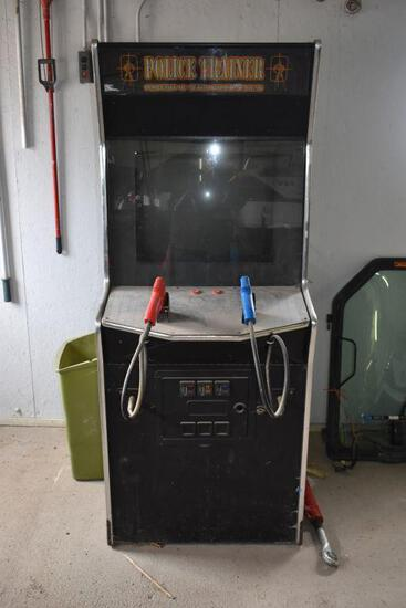 Police Trainer Arcade Game
