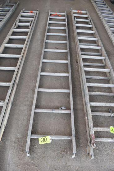 Aluminum 12' ladder section