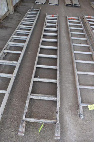Werner 24' total length extension ladder