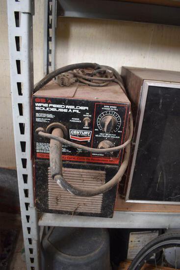 Century Wire Feed Welder, 120 Volt 20 AMP Single Phase