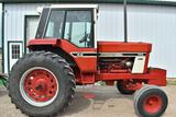 1978 International 986 2WD Tractor, 2458 Hours, Full Cab, 18.4x34, 3pt, 540/1000PTO,