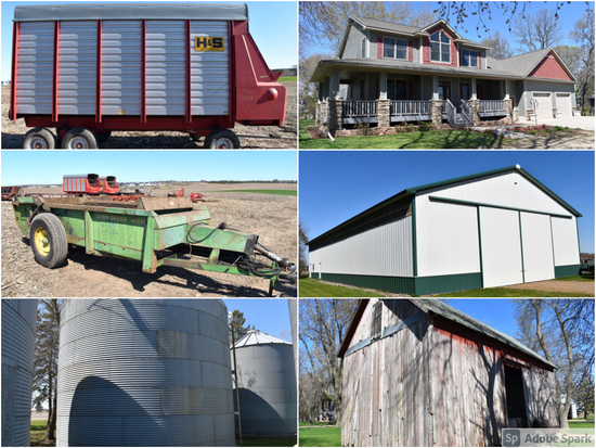 TIMED ONLINE ONLY FARM SITE REMOVAL AUCTION