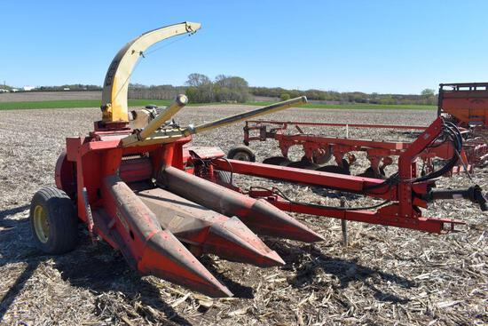Gehl 860 Forage Harvester, Hydro Swing, Elec. Spout, 1000 PTO, Sells With TR3038 2 Row