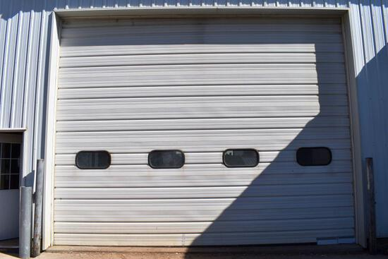 Overhead Insulated 14' Tall x 18' Wide Shed Door With Opener