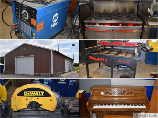 TIMED AUCTION FOR HAYFIELD IND. SCHOOL DISTRICT