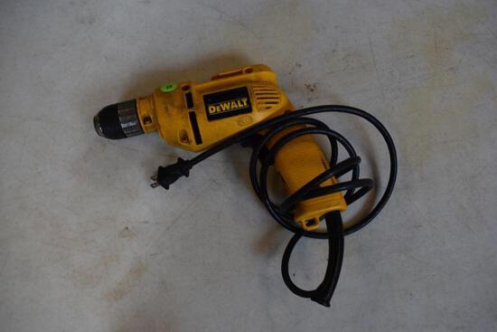 """DeWalt DW106 3/8"""" Corded Drill - Keyless Chuck"""