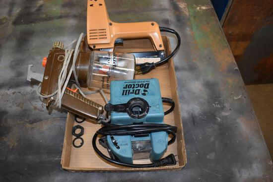 Drill Doctor, Electric Stapler & Electric Paint Sprayer