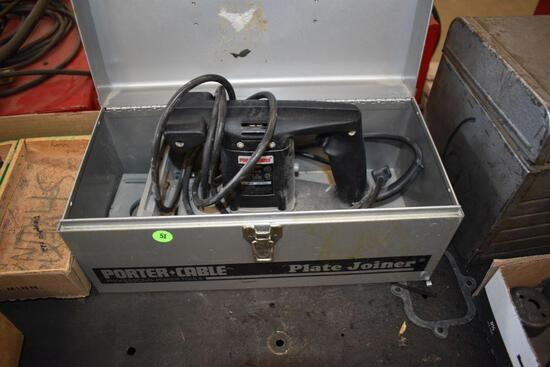 Porter Cable Model 556, Plate Joiner With Case