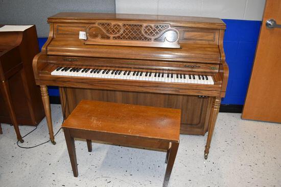 "Kimball Piano, 25"" wide x 56"" long x 42"" high"