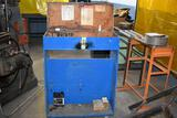 Wooden Rolling Cabinet With End Mill Bits, Chucks, Clamping Set & Cutters