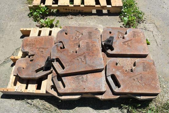 (12) Allis Chalmers Front Tractor Weights, selling 12 x $