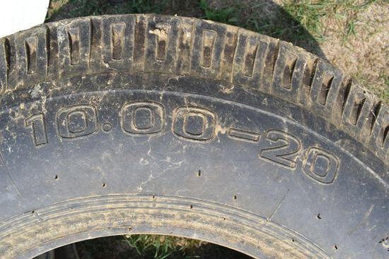 10.00x20 & 8.25x20 truck tires