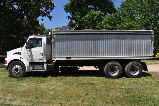 2005 Sterling Acterra Tandem Twin Screw Grain Truck, Cat C-7, Allison Automatic Trans, 303,286