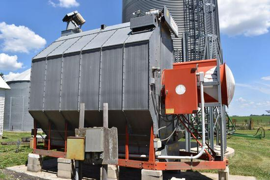 Farm Fans CF-AB270 Corn Dryer, 6992 Hours, Single Phase, LP Gas, SN: C-2793 One Owner, Very Clean