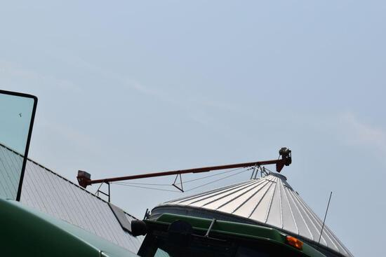 Approx. 30' Cross Auger with electric motor, west side, buyer responsible for removal