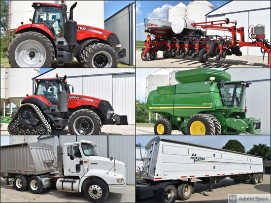 LOW HOURED FARM RETIREMENT AUCTION - ANGELL