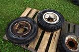 Pair Of 7.00x12 Tires