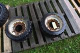 Pair of 18x8x12.5 Tires