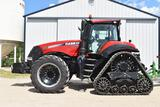2016 Case IH 340 Magnum Row Track MFWD 1478 Actual Hours, 18 speed Power Shift, Left Hand Reverser,