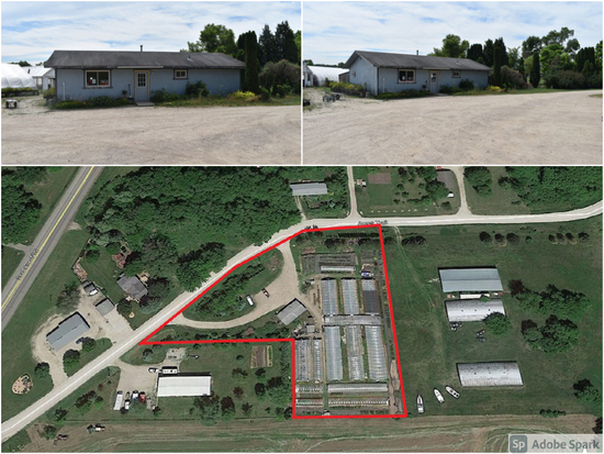 2.5 ACRE COMMERCIAL LOT WITH BUILDINGS