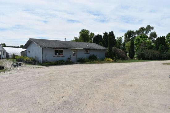 2.5 Acre commercial lot with existing 1053sq. ft. retail building, just on the edge of Faribault, MN