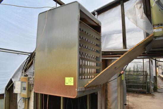 Modine model PD250AA0111 natural gas hanging heater, 250,000 btu input, located in GH 9