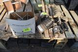 Assorted used fertilizer injectors, located in GH 197