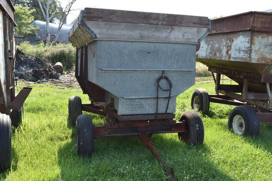 Galvanized flair box with 8 ton running gear and hoist