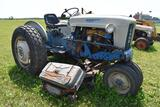 Ford 4000 tractor, diesel, select o speed, N/F, 72