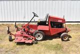 Toro 322D Ground Master front deck mower, diesel, 72