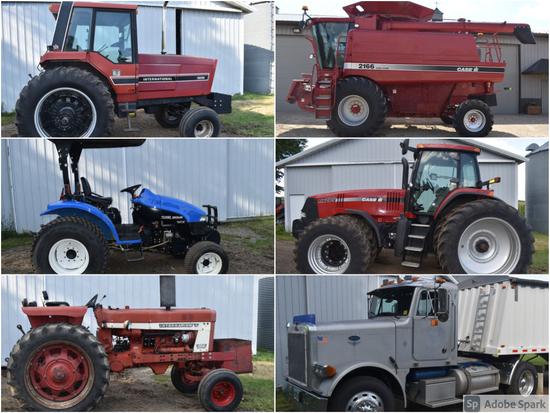CLEAN ONLINE ONLY FARM RETIREMENT AUCTION - OLSON