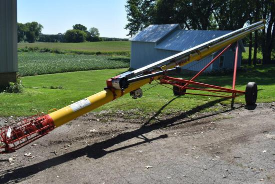 """Westfield WR80-41 Grain Auger, 8""""x41', PTO Drive, Good Condition, SN: 195084"""