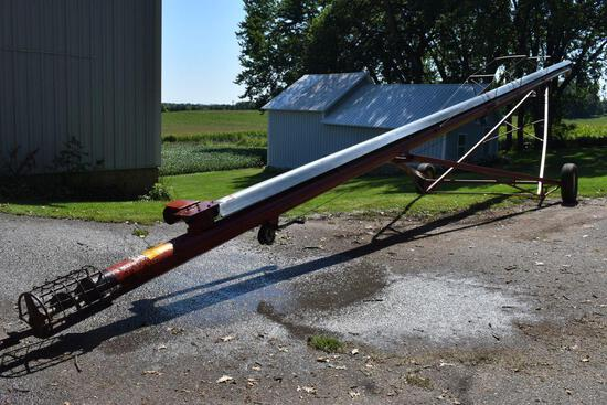 """Feterl 8""""x60' Grain Auger, PTO Drive, Good Condition, SN: 860R89114R"""