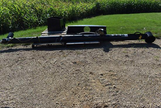 """Unverferth Model 22656 UM 6""""x16' Stainless Auger, Hydraulic Drive, Hopper and Mounts For"""