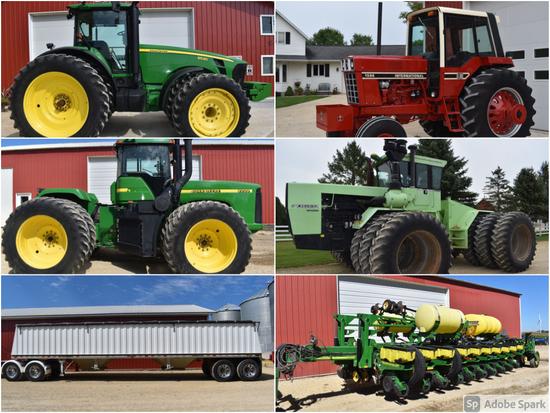 CLEAN FARM MACHINERY AUCTION - VOIGT/SATHRE