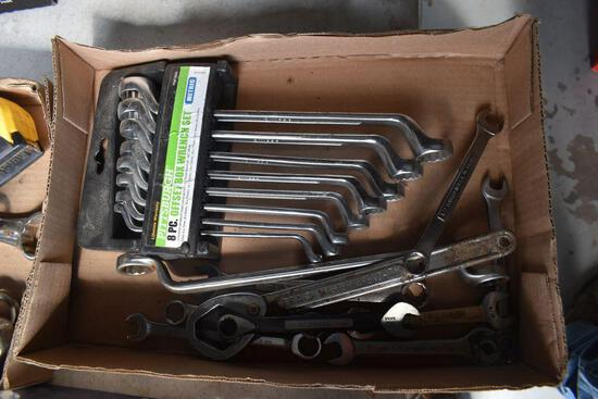 Metric Set Of Box Wrenches & Other Box End Wrenches