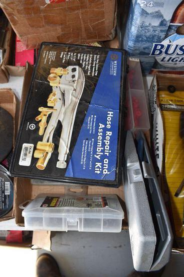 Assortment Of New Hardware and Hose Repair & Assembly Kit