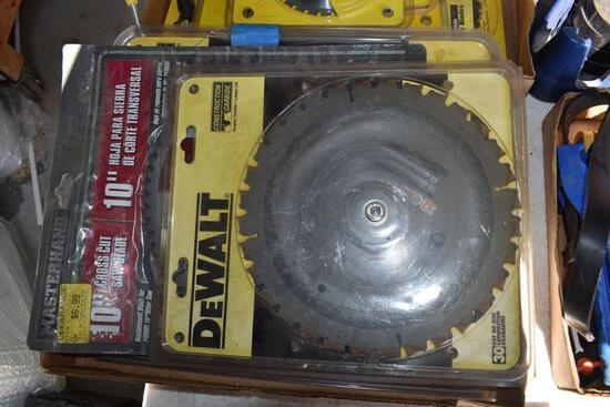 """DeWalt And Other Saw Blades, 10"""" and 12"""""""