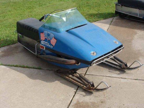 1972 Speedway Blue Max Snowmob Auctions Online Proxibid