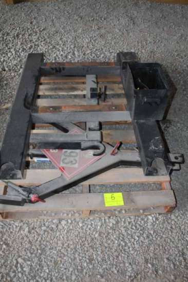 Tow Hitch and Metal Bracket