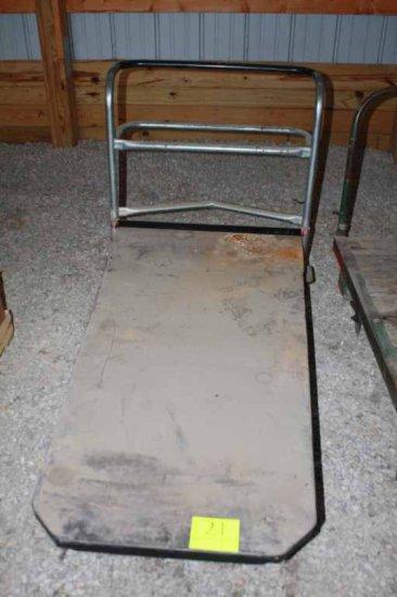 Metal 4 Wheel Dolley Cart