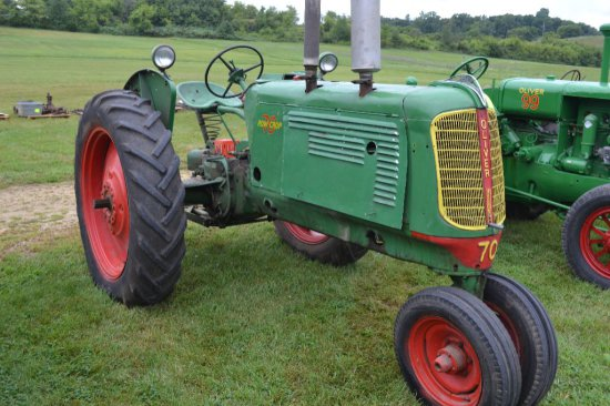 Oliver 60 Fenders : Oliver row crop n f side auctions online proxibid