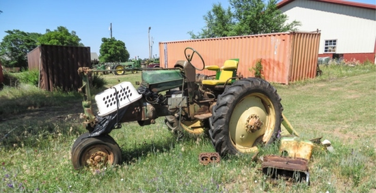 '59 430T row crop, gasoline, S# 156813