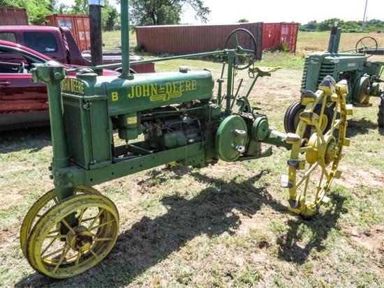 '41 B row crop unstyled, gasoline, S# 9964