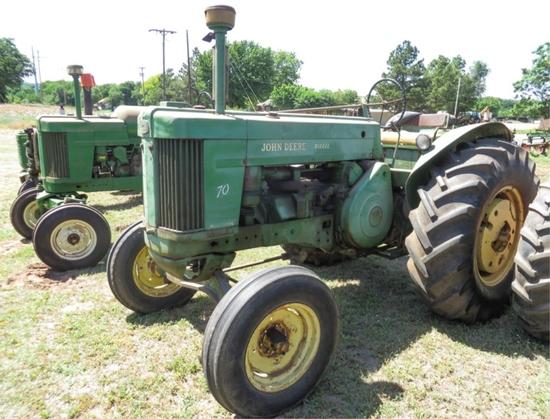 '56 70 wide front, diesel, S# 7042112, unrestored