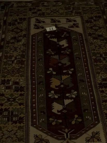Vintage woven rug