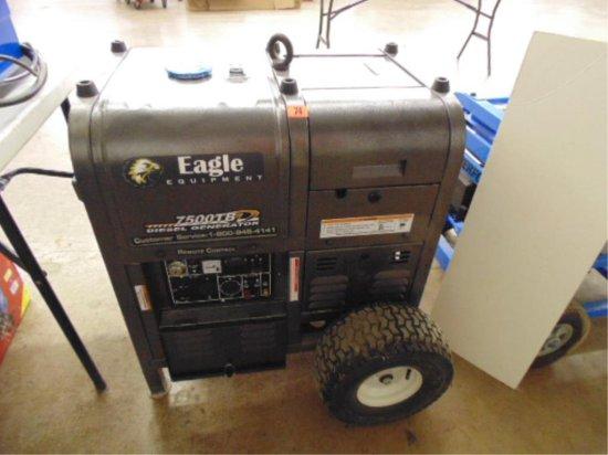 NEW EAGLE EQUIPMENT 7500TB DIESEL GENERATOR, 418 | Auctions